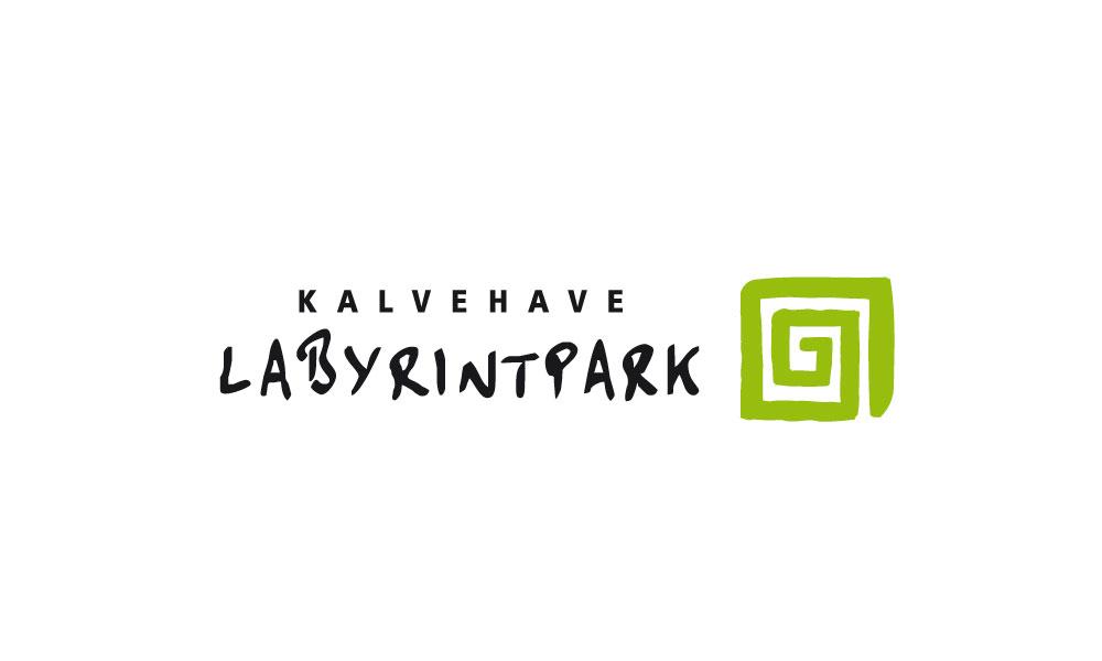 logodesign-kalvehave-labyrintpark